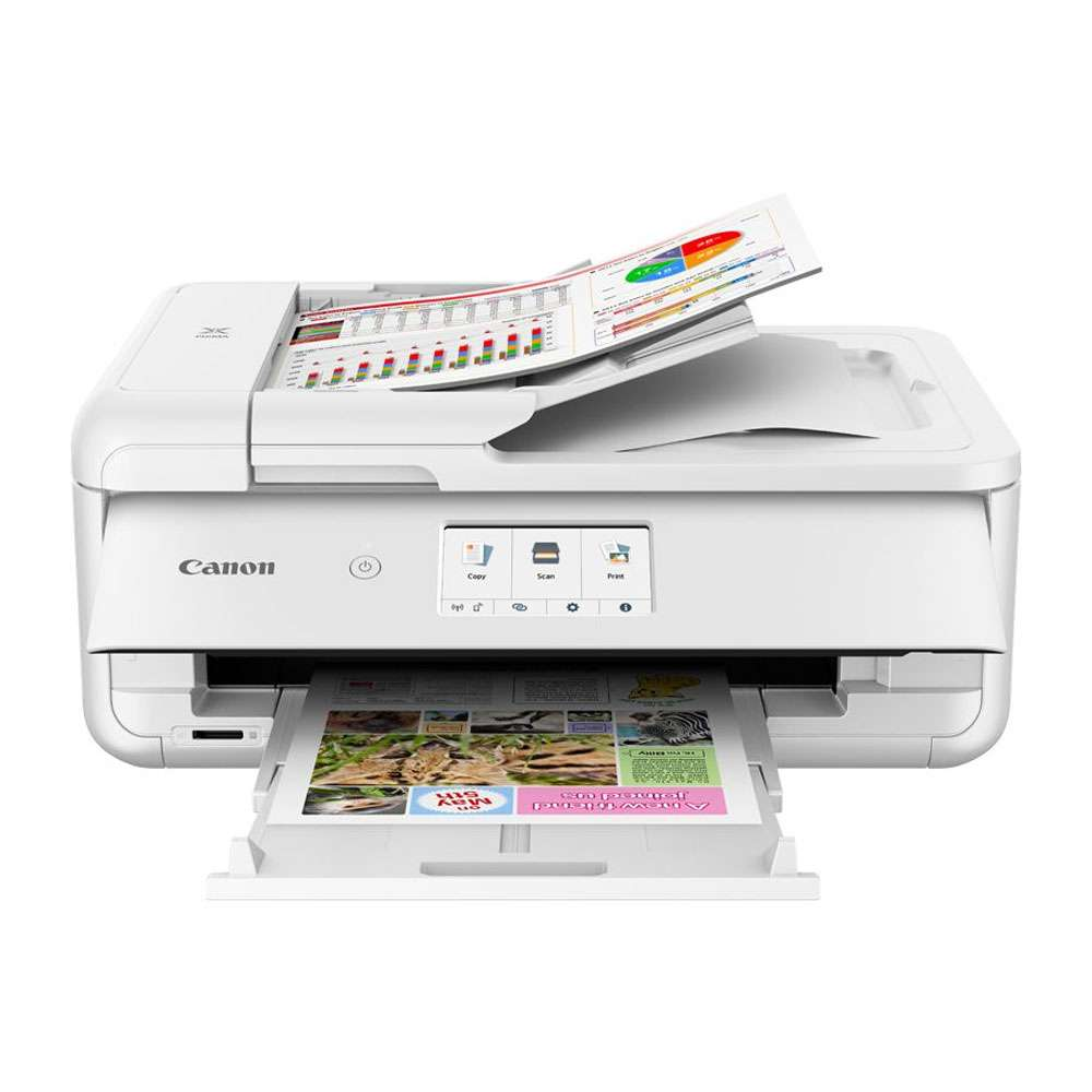 Canon Pixma TS9541C All-In-One A3 Inkjet Printer, White