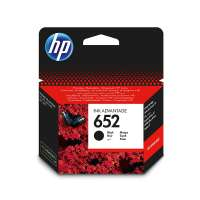 HP 652 Ink Advantage Cartridge Black - F6V25AE